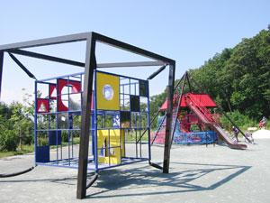 上野幌西公園 立方遊具
