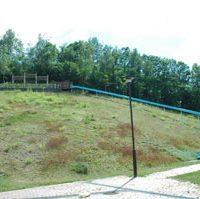 真駒内虹の緑地ローラー滑り台