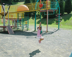 真駒内虹の緑地遊具