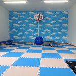 就学児専用の運動スペース