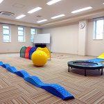 運動療育も行える広いお部屋