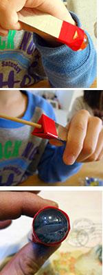 自由研究,夏休み,冬休み,DIY,手作り,ビー玉万華鏡